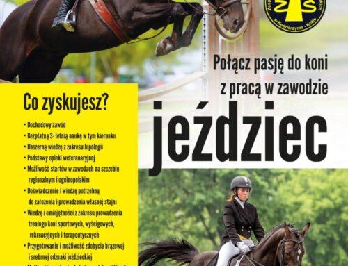 Zespół Szkół nr 1 w Kędzierzynie-Koźlu otwiera klasę o kierunku jeździec